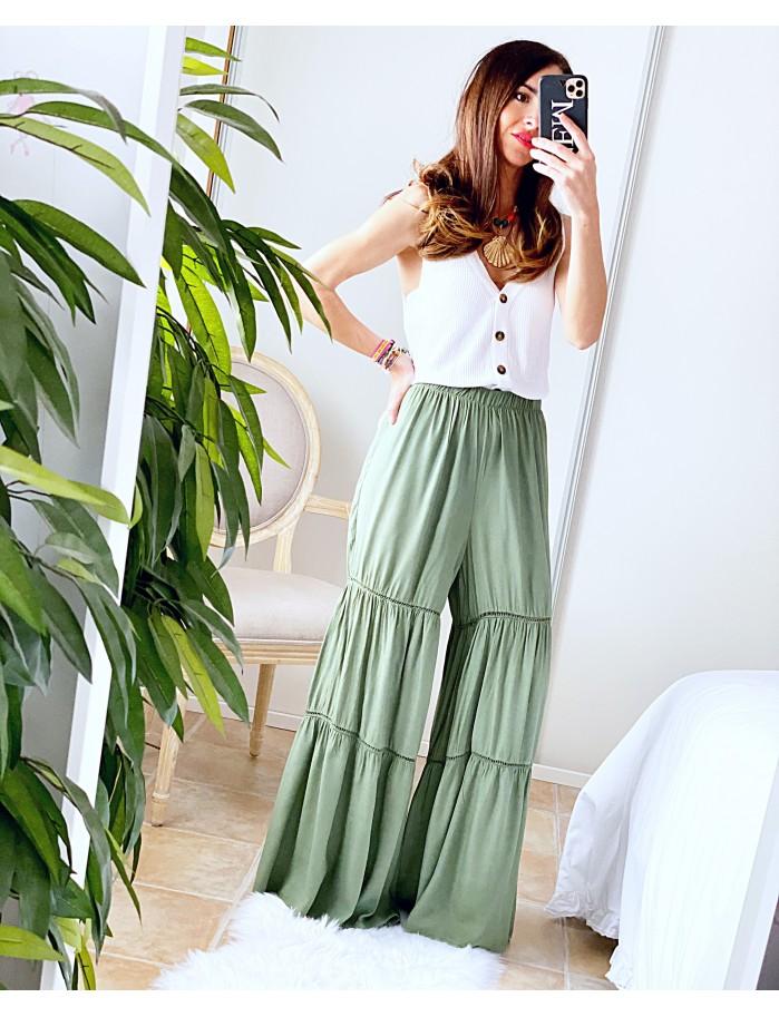 Pantalón Abba verde
