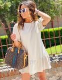 Vestido altea beige