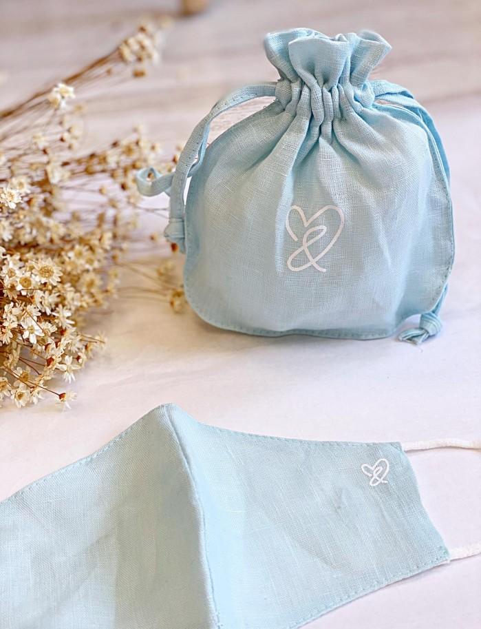 Mascarilla C&C azul bebé
