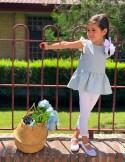 B. Blusa Túnez azul niña